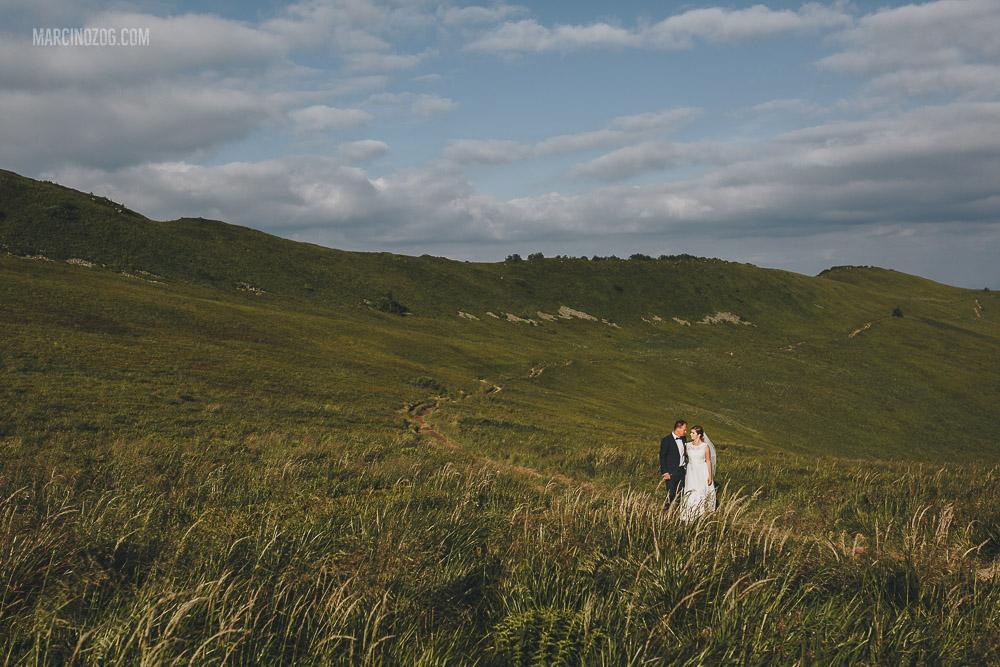 Sesja ślubna - plener w Bieszczadach