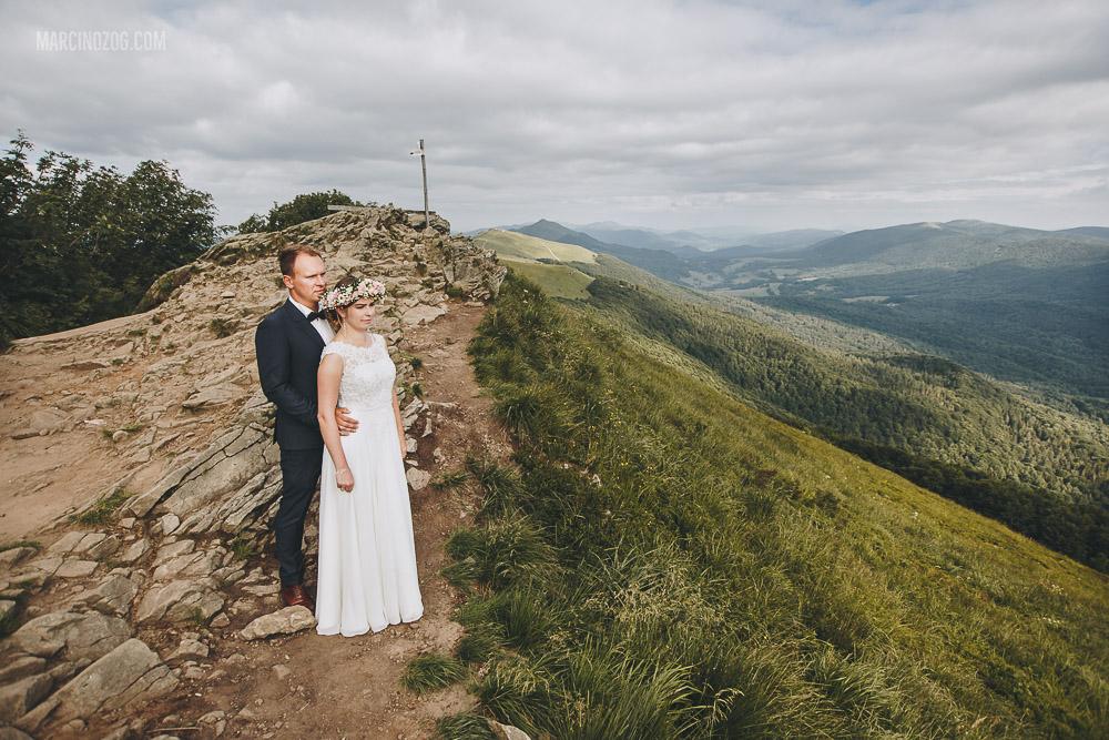 Sesja ślubna - Alicja i Paweł w Bieszczadach