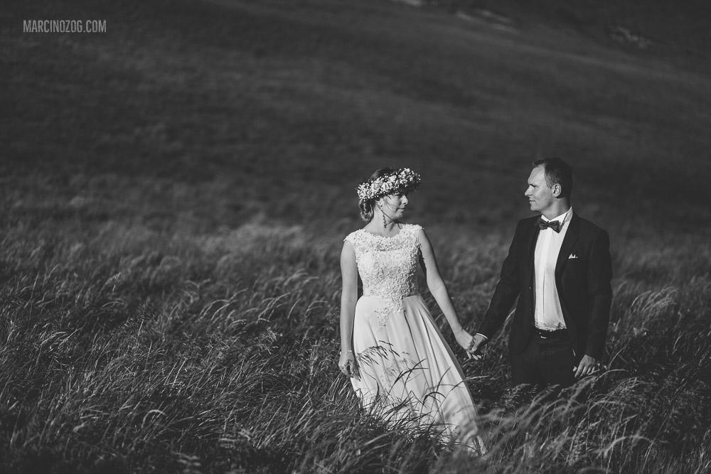 Sesja ślubna - blisko natury