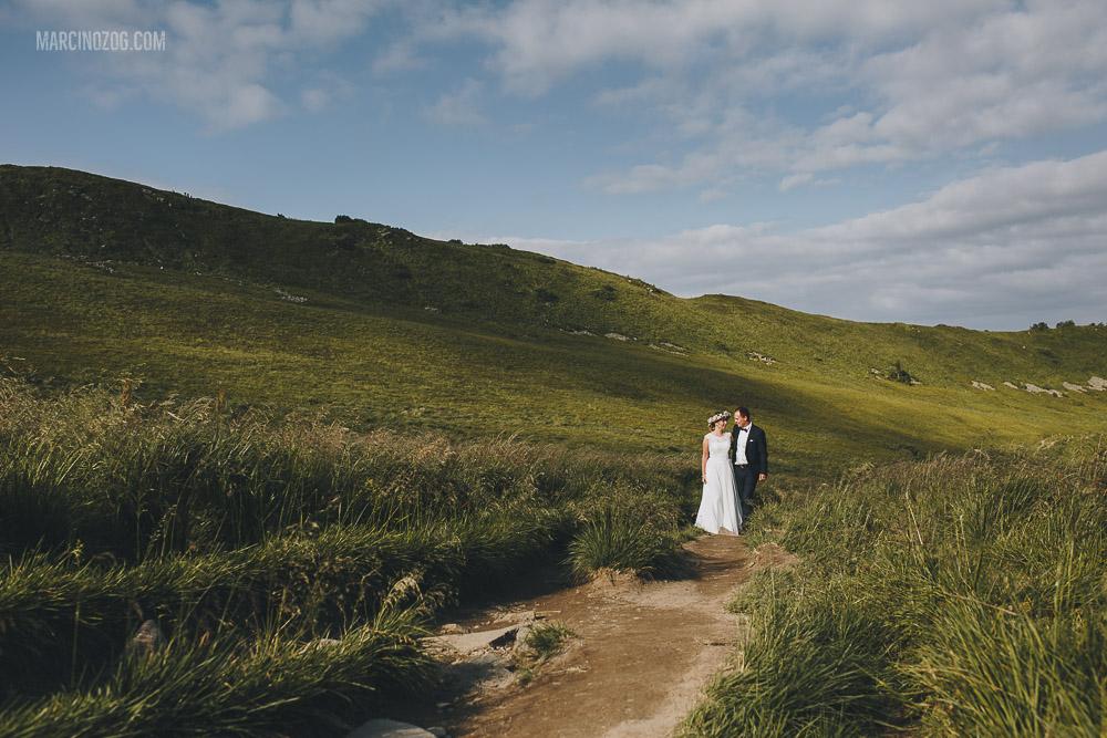 Sesja ślubna w otoczeniu przyrody