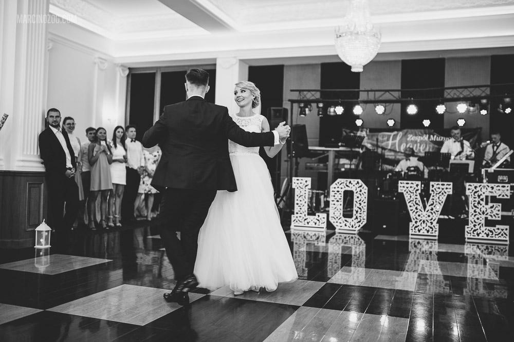 Pierwszy taniec Elizy i Kamila - Wesele w Hotelu Łańcut