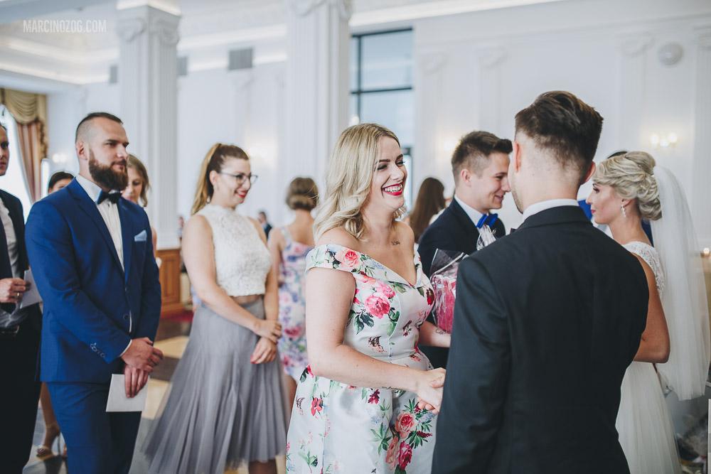 wesele w Hotelu Łańcut - gratulacje
