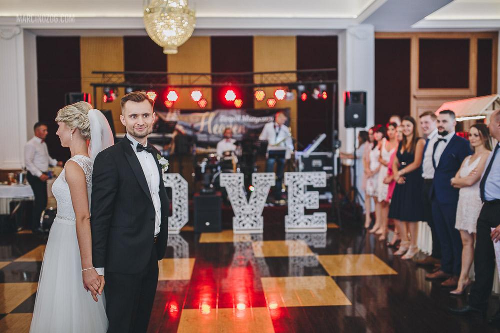 Wesele w Hotelu Łańcut - Pierwszy taniec nowożeńców