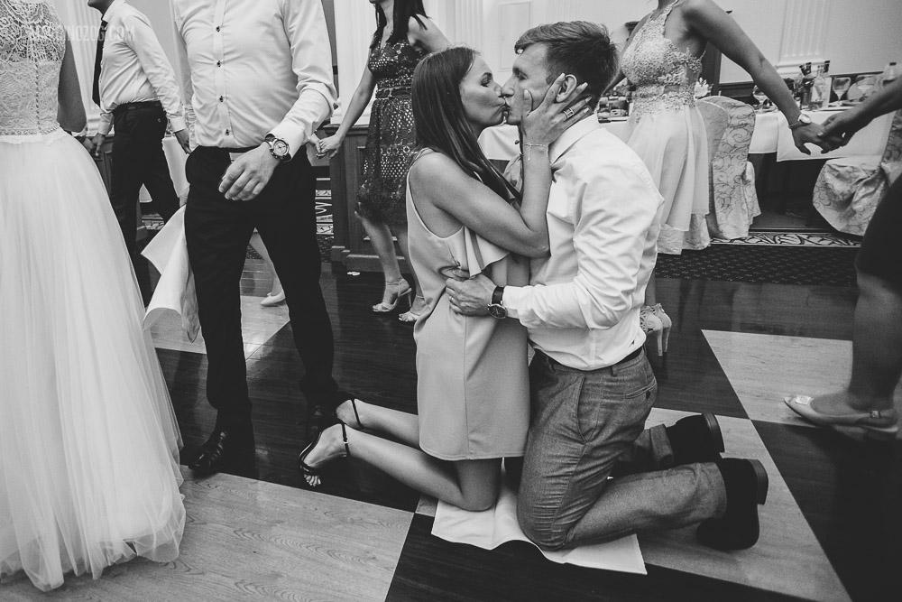 Zabawa w chusteczkę haftowaną - wesele w Hotelu Łańcut