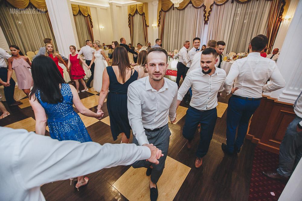 oczepiny i wesele w Hotelu Łańcut
