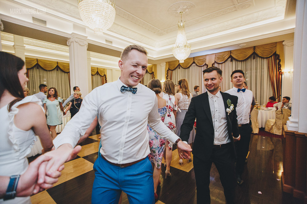 wesele w Hotelu Łańcut i zabawa oczepinowa