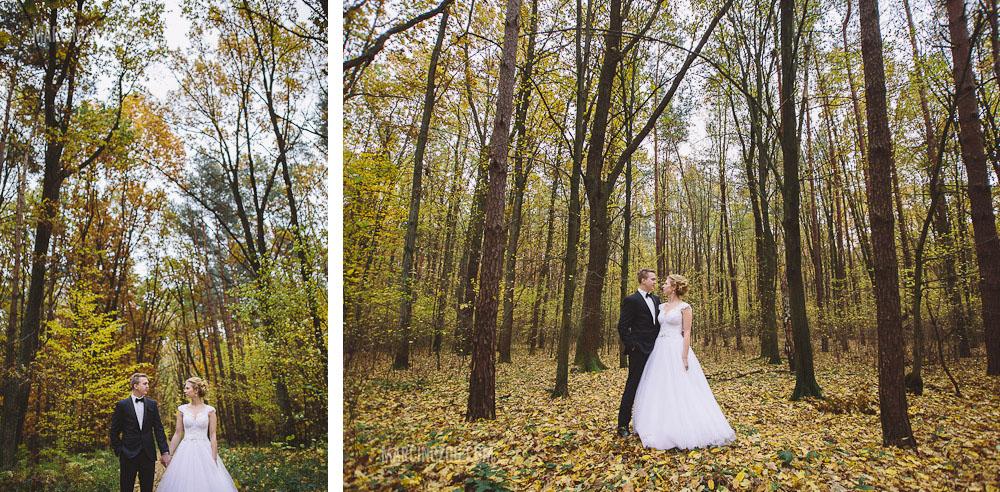 Plener ślubny Rzeszów - sesja w lesie