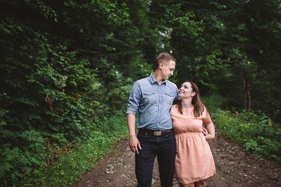 Kasia + Michał – blisko natury