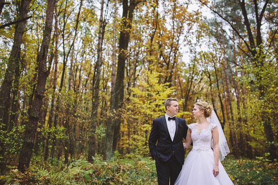 Weronika + Aleksander – fotografia ślubna w kolorach jesieni