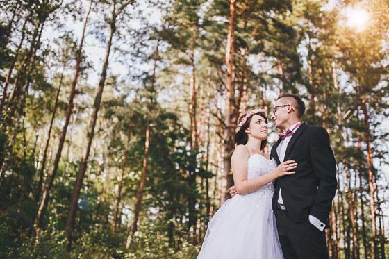 Karolina + Kamil – fotografia ślubna skąpana w słońcu