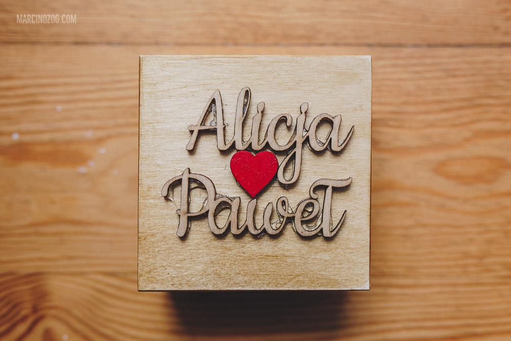 Przygotowania ślubne Alicji i Pawła