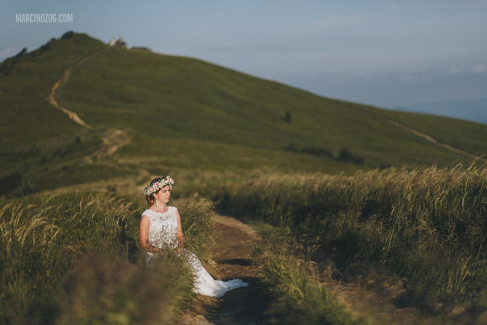 Sesja ślubna - portret Pani Młodej