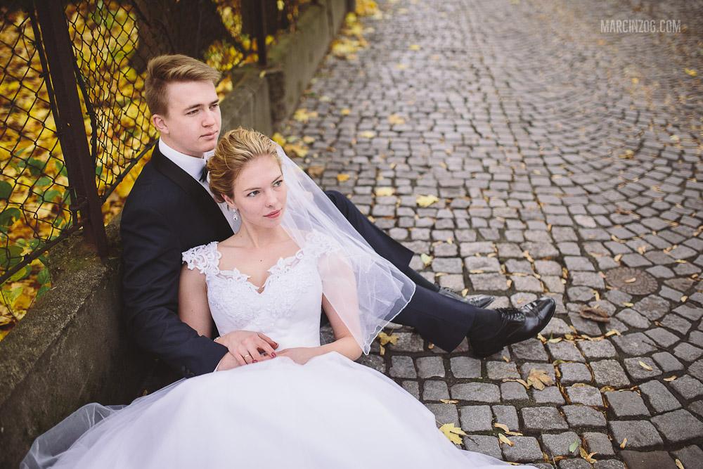 Zdjęcia ślubne Kraków - stare miasto