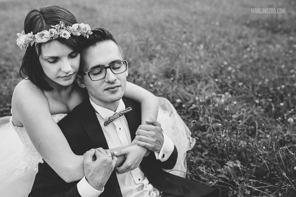 Zdjęcia ślubne Rzeszów - sesja Karoliny i Kamila