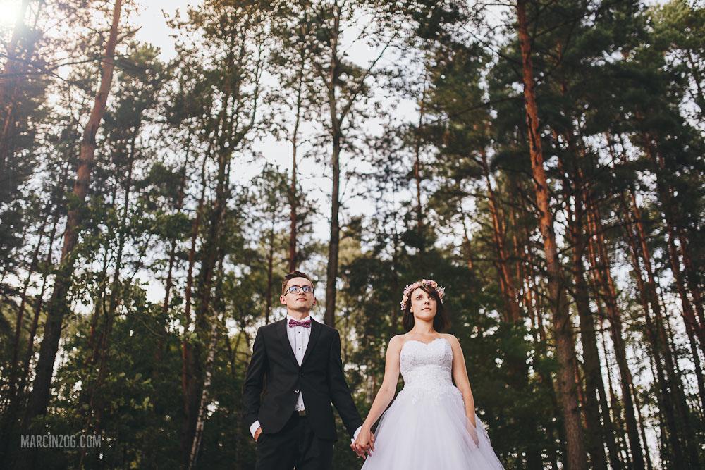 Zdjęcia ślubne w lesie - Rzeszów