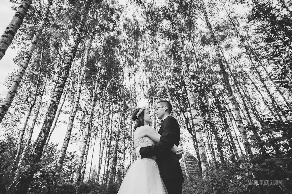 Zdjęcia ślubne Rzeszów - las
